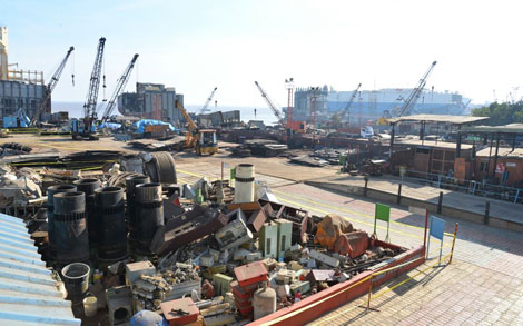 Ship Demolitions | Ship Scrap cash buyers- Vessel Demolition